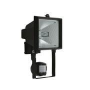 projecteur exterieur 500W rectangle Noir avec détecteur de mouvement