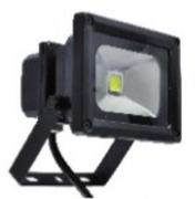 projecteur exterieur noir Led 10W EPISTAR blanc chaud IP65