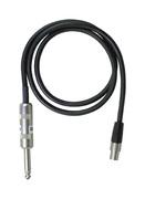 Shure - WA302 Accessoires pour émetteur - Câble TQG-Jack 6,35mm