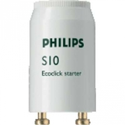 Starter philips S-10 pour tube fluo 4W à 65W code 69769126