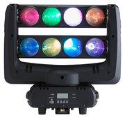 Contest Storm-8x10QC - Lyre à rampe d'animation 8 LEDs RGBW 10W