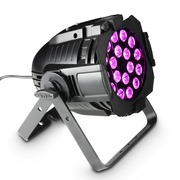Projecteur Cameo Studio PAR 64 CAN RGBA Q 8W PAR QUAD Colour LED 18 x 8W RGBA avec boîtier noir