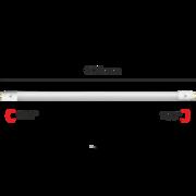 Tube fluo à LED T8 60cm Blanc chaud 3000K 10W