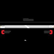 Tube fluo à LED T8 90cm Blanc chaud 3000K 14W