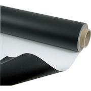 Tapis de danse noir et blanc réversible largeur 1,5m longueur 15m