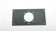 Plaque latérale avec perçage diametre 46mm pour TBOX