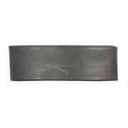 Gaine thermorétractable noire 24/8 mm AVEC COLLE - Longueur 1.22 m
