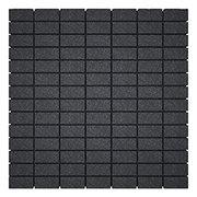 THOR Artnovion Lot de 8 panneaux absorber de 315 Hz à 8000 Hz gris anthracite