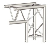 structure triangulaire Mobil truss Angle 90 - 290mm TRIO A 30405