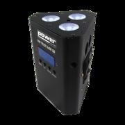 Projecteur Led sur batterie Power Lighting Triangulaire 3x5W RGBW