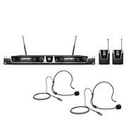 Micro sans Fil LD systems U506 BPH2 2x serre-tête 655 - 679  MHz 30mw