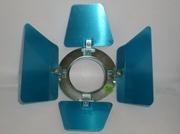 Volets coupe flux pour PAR16 ALU diamètre 80mm