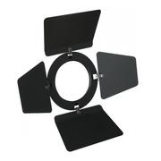 Volets coupe flux pour PAR30 noir diamètre 128mm