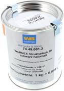Peinture Warnex spéciale enceinte Laque de Finition noir 1 kg