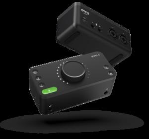 Pack Studio solo Audio technica AT 2020 & casque M20x et Audient EVO4 avec pied de micro