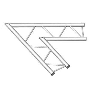 Angle horizontal de structure échelle ASD AEX21, 60°