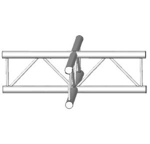 Angle 4 départ en croix de structure Vertical échelle ASD AEX41V