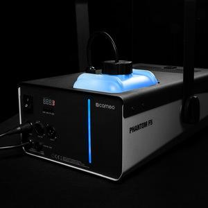 Cameo PHANTOM F5 Machine à fumée 1500 W DMX avec éclairage bicolore du réservoir