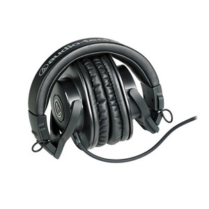 Casque Studio monitoring fermé Audio Technica ATH-M30X noir