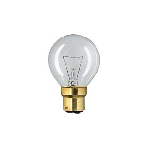 Ampoule sphérique B22 230V 15W CLAIRE