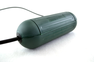Boitier de protection de prises étanche IP44 vert