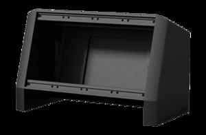 CASY014 Caymon Boîtier aluminium noir sur table 4 modules