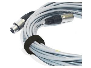 attache cable velcro noire gros modèle 30cm X 2.5cm à scratch