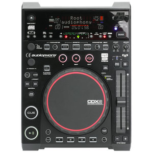Lecteur CD & USB DJ à plat Audiophony CDX6