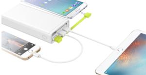 Chargeur sur batterie Powerbank 3 ports USB 20.000mAh
