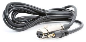 Bundle micro XLR CMS400 sur support flexible avec filtre anti pop