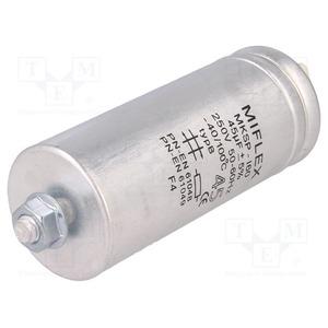 Condensateur metal pour lampe 45uA 250V