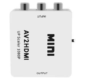 Convertisseur Vidéo RCA composite vers HDMI upscaler 1080p