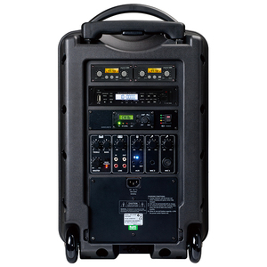 Pack enceinte sur batterie 150W DL-850 + BT + micro main HF OKAYO