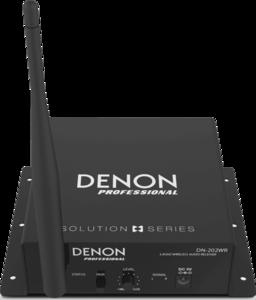 Récepteur audio sans fil UHF DENON DN202-WR
