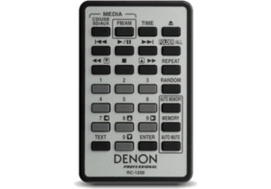 Lecteur CD SD USB Bluetooth tuner Denon DN300Z MK2 rackable 1U