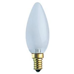 Lampe E14 Flamme lisse dépolie 230V 25W