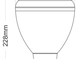 Ampoule Beneito Faure Cup Led E27 45W 100° 3000K