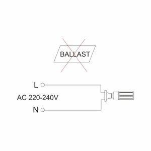 Lampe Led E40 30W 5000K 3550 lumen