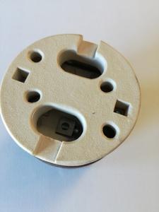 Douille E40 porcelaine avec isolateur