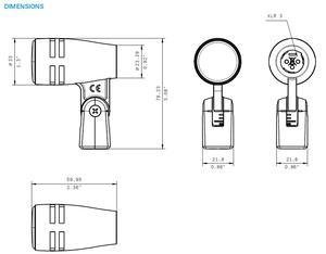 Micro dynamique e604 pour batteries et percussions SENNHEISER