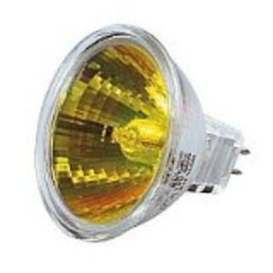 LAMPE EXN 12V 50W GU5.3 38° Jaune