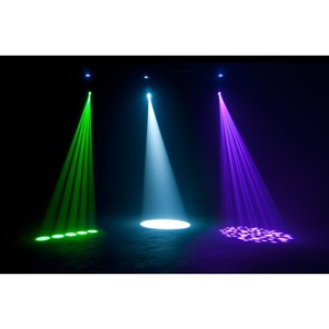 Lyre Spot ADJ Focus Spot one led 35W + UV 15 à 17 canaux DMX