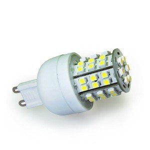 livraison gratuite ampoule g9 48 leds blanc froid 230v 2 9w led g9 prozic. Black Bedroom Furniture Sets. Home Design Ideas