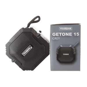 Getone 15 Grey Yourban Enceinte bluetooth compacte grise