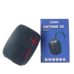 Getone 25 Blue Yourban Enceinte bluetooth et USB bleu étanche IP65