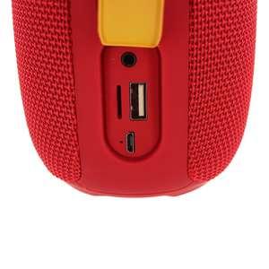Getone 25 Red Yourban Enceinte bluetooth et USB rouge étanche IP65