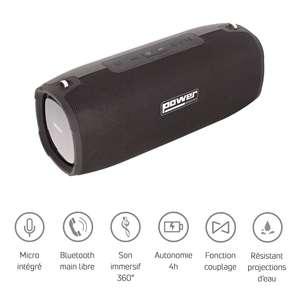 Getone 50 Black Power - Enceinte bluetooth USB sur batterie noire