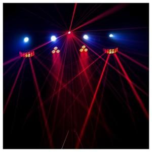 Set d'éclairage Chauvet GIGBAR 2 Laser par strobe effet 4 en 1 avec contrôleur pied et housse