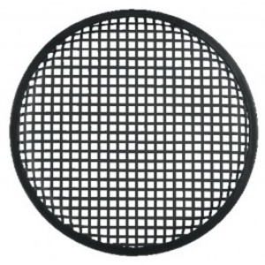Grille noire pour haut parleur 30cm