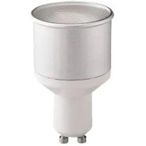 Ampoule GU10 fluo economique 9W 2700K Blanc chaud code 0031049